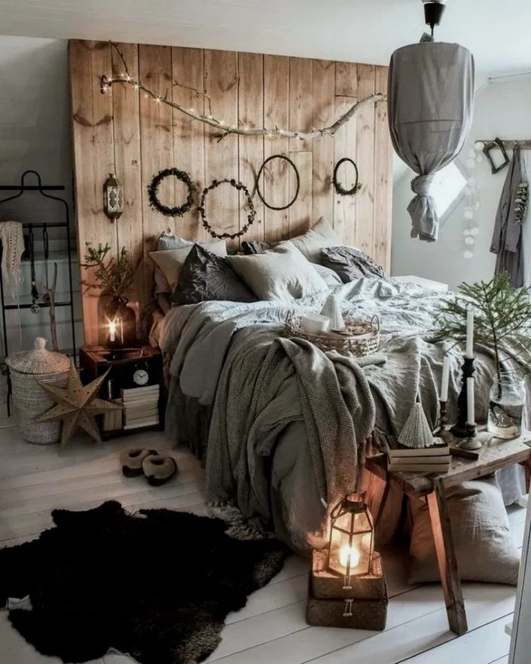 31 Modern Retro Vintage Style Bedroom Ideas 00032 With Images