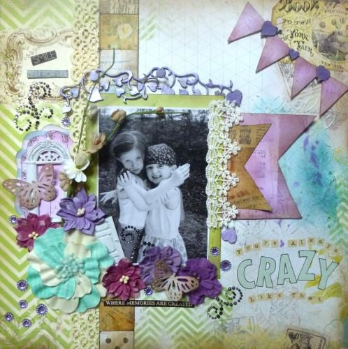 Scraps of Elegance Kit Club - created by Cathi O'Neill with the Possibility kit
