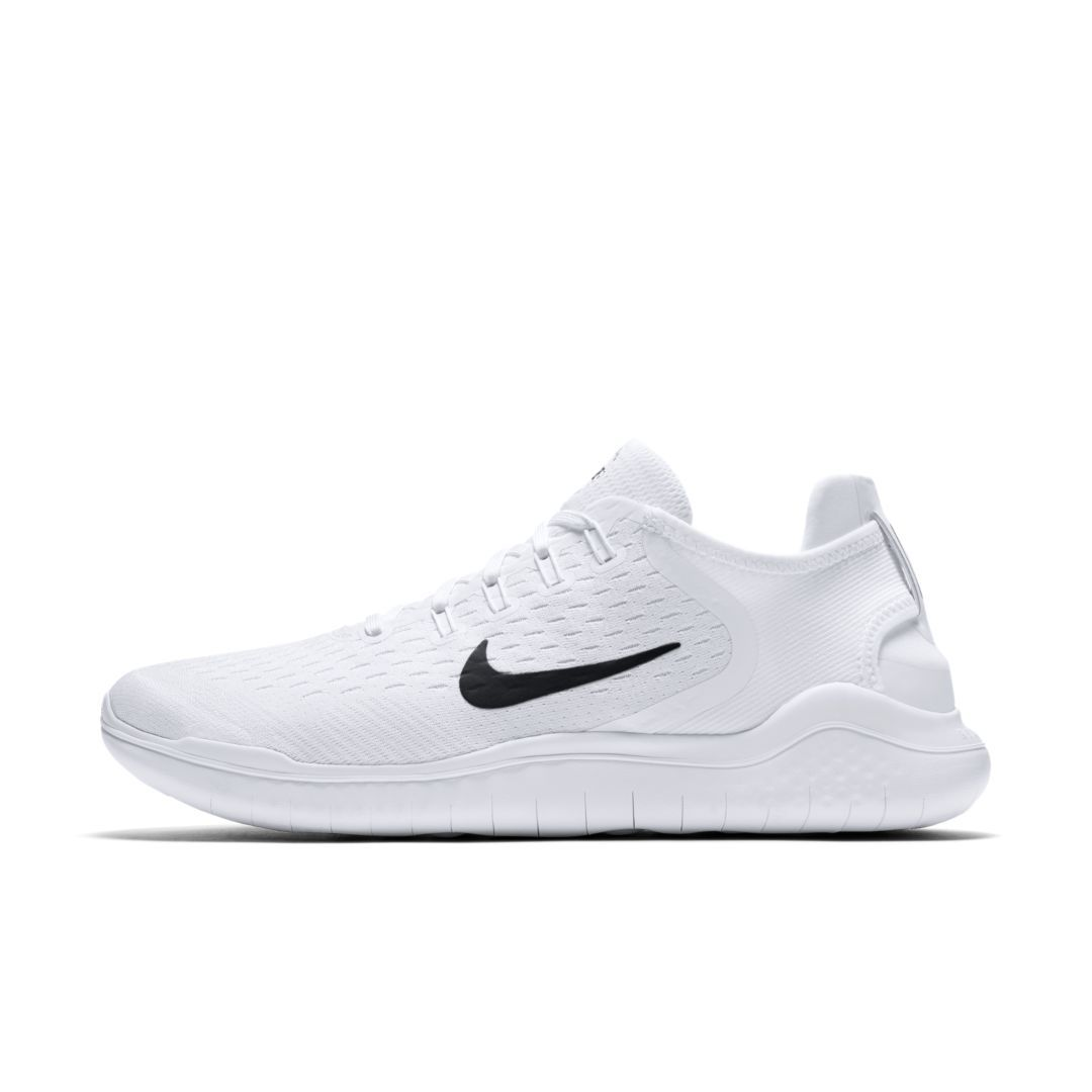 Nike Free RN 2018 Men\u0027s Running Shoe Size 6 (White