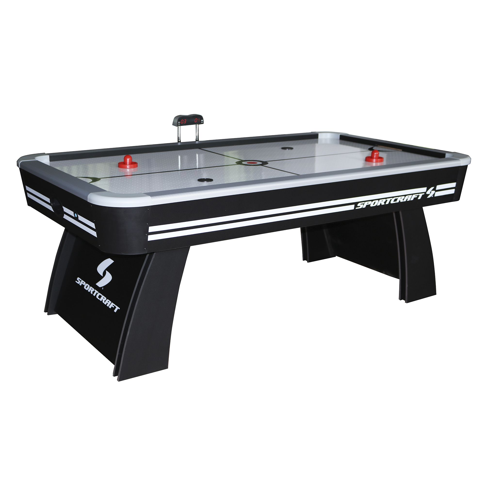 Complete Your Game Room With The Sportcraft Air Hockey Ping Pong Combo Table The Sportcraft 7 Air Hockey And Table Te Air Hockey Table Air Hockey Table Tennis
