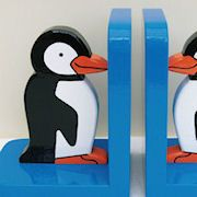 Penguins Bookends