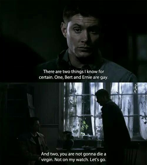 This should have gone sooooo differently... Supernatural