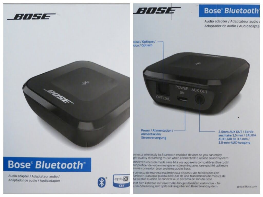 Bose Bluetooth Wireless Music Audio Receiver Adapter Unboxing  U0026 Review