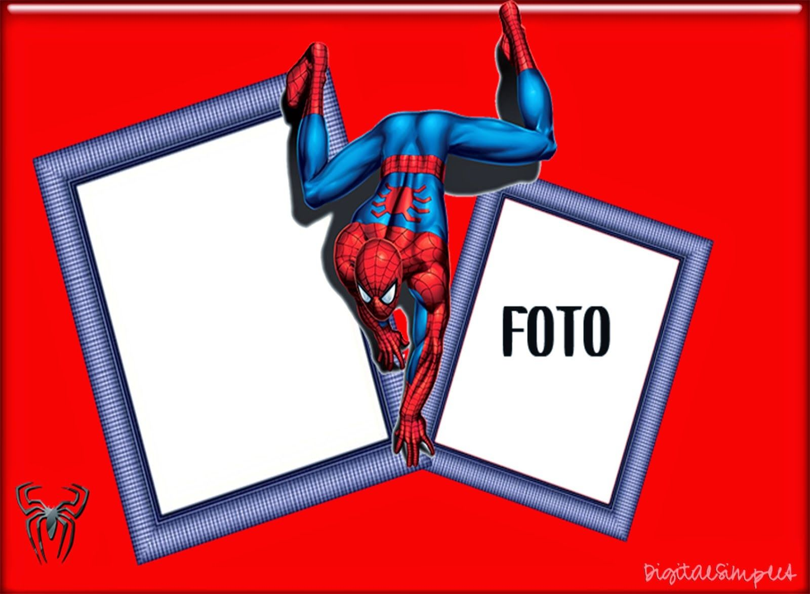 Spiderman: Invitaciones para Imprimir Gratis. | spiderman ...