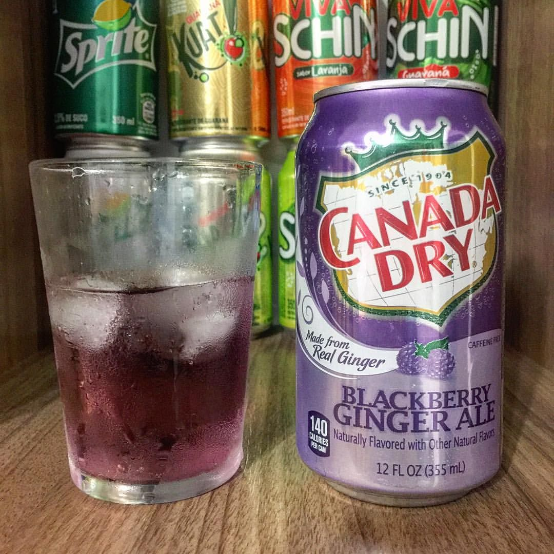 Canada Dry Blackberry Ginger Ale Not Soda Pinterest Ginger