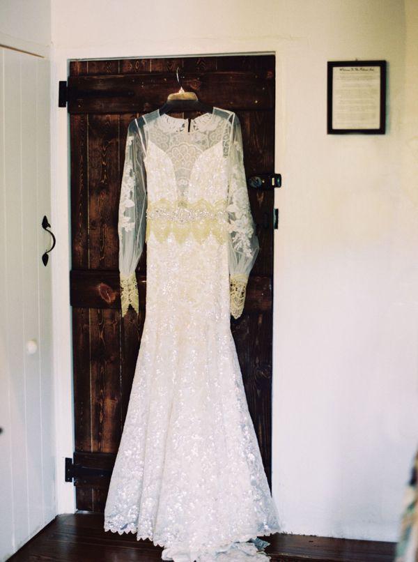 vintage wedding dress from Mountain Tam San Francisco Shoot ...