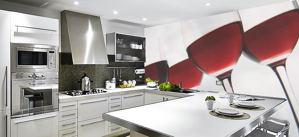 Kitchen Wall Murals