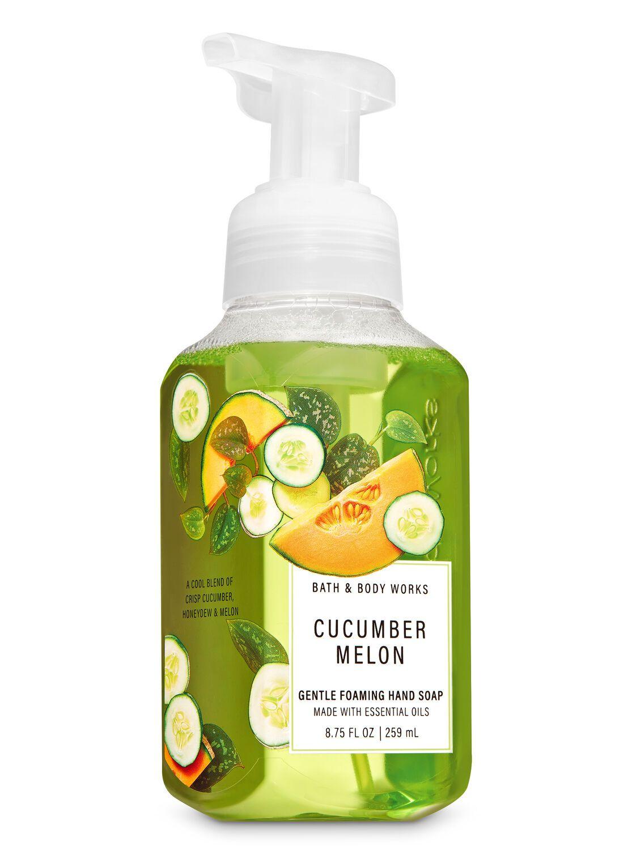 Bath Body Works Cucumber Melon Gentle Foaming Hand Soap In 2020