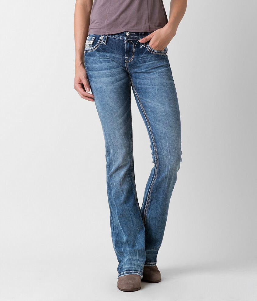 6b4f3a88fa7 Rock Revival Sapphire Mid-Rise Boot Stretch Jean - Women s Jeans in  Sapphire B203