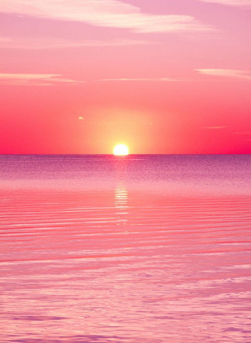 1544 pink sunset pink sunset sunset and wallpaper for Pretty wallpapers for home