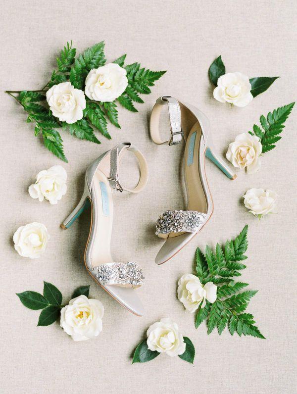 Elegant Pastel Wedding at Saratoga National Golf Club – Country wedding shoes
