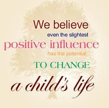 #MakeTodayBetter    Change a child's life by being a positive influence.  Spend time with a child and let them know you care.