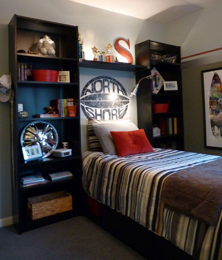 Home Ideas Review in 2020 | Small boys bedrooms, Boy ... on A Small Room Cheap Cool Bedroom Ideas For Teenage Guys Small Rooms  id=39539