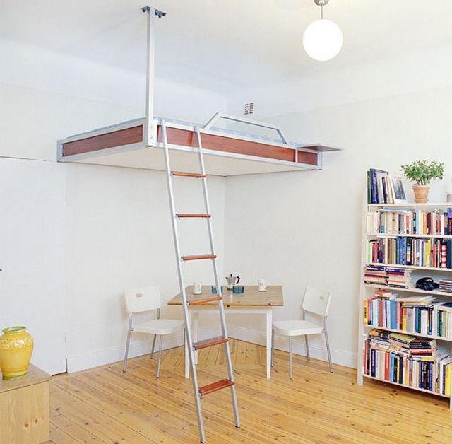 Ideas practicas para camas en dormitorios pequeños 5 | Dormitorio ...