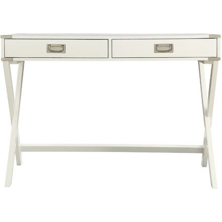 Mariella Writing Desk In White Weston Home Chic Writing Desk Desk