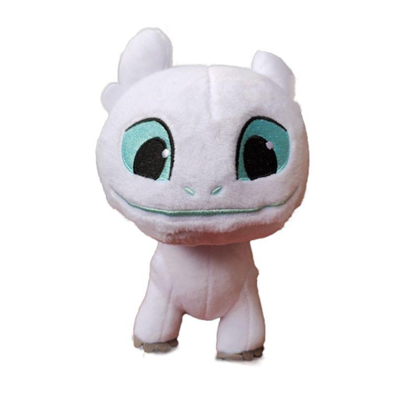 How to Train Your Dragon 3 Plush Toy Light Fury White Dragon plush Doll toy