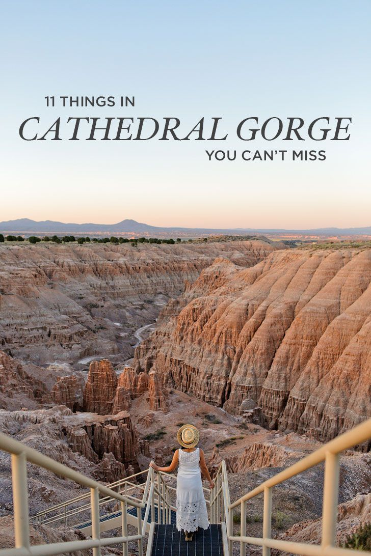 11 Things You Can't Miss at Cathedral Gorge State
