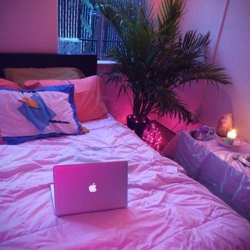 Room Ideas Aesthetic Light Purple