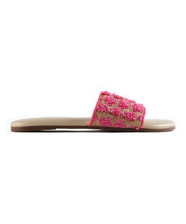 Love this Pink Lemonade Leather Sandal on #zulily! #zulilyfinds