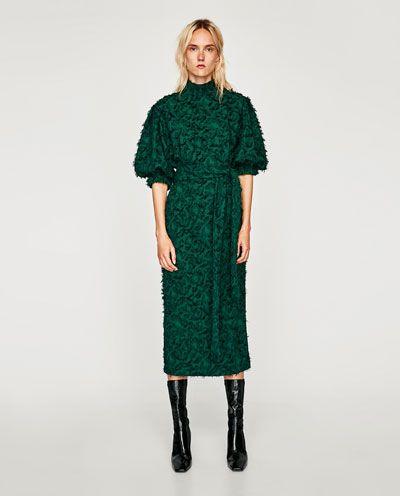 b1501d6b560 MIDI DRESS WITH FRINGE-View all-DRESSES-WOMAN   ZARA Ireland ...