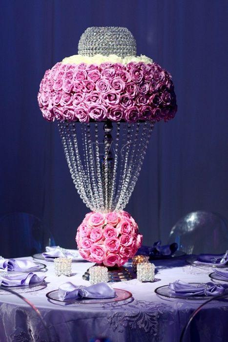 Bling Ideas | Bling Centerpiece Wedding Decoration Ideas | Get your ...