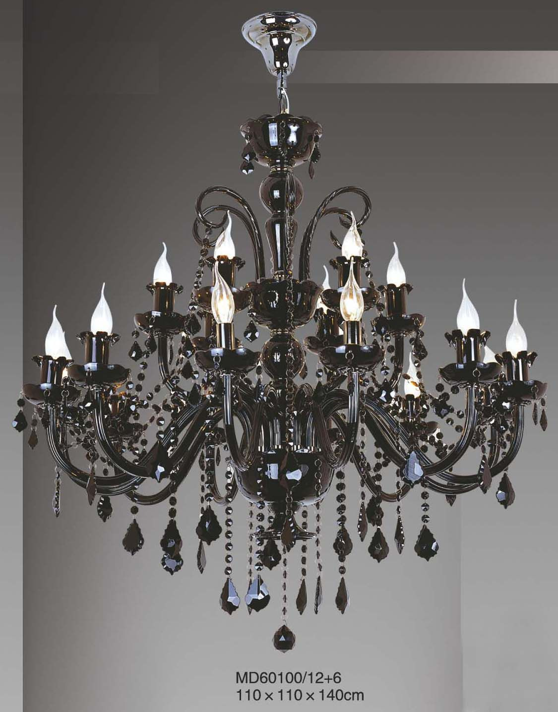 China Hotel Re Black Chandelier Md60100 12 6 Photos