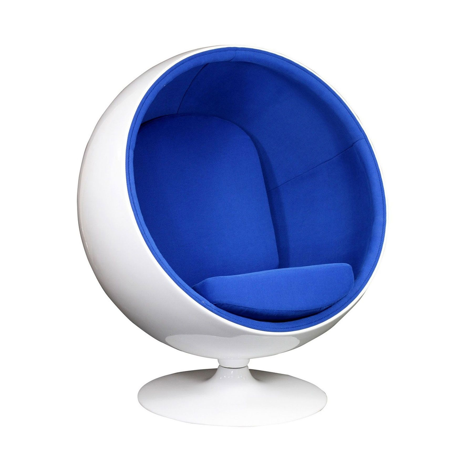 Bright Future Lounge Chair   Blue | Coccooned In This Lounge Chair, The  Future Looks