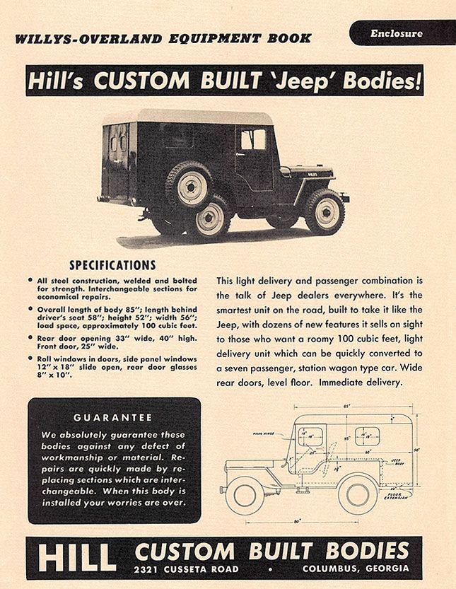 Meyers Jeep Top Google Search Jeep Willys Custom Jeep