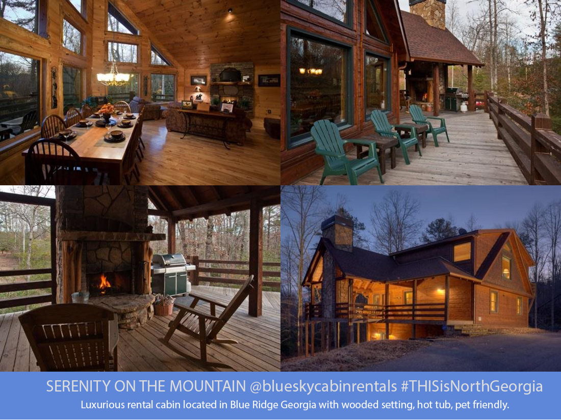 Serenity on the Mountain Blue Ridge, GA Serenity On The