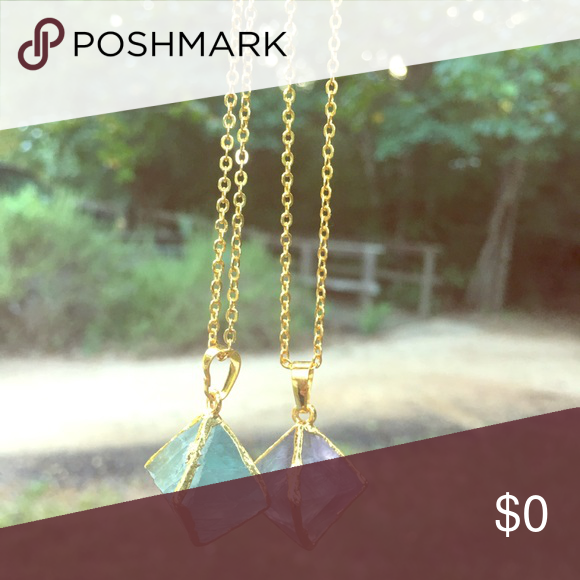 ✨✨✨✨Check These Beauties Out These beauties are on sale! Grab you one while supplies last and watch you fall in love with your stone when it arrive! Jewelry Necklaces