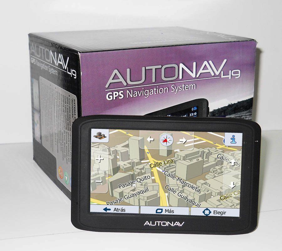 Tienda Autonav: GPS 49 Multimedia con 28% de descuento