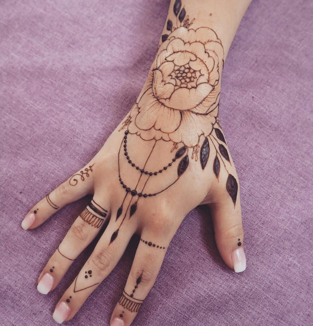 Henna tattoo design ideas for women hand and more page of