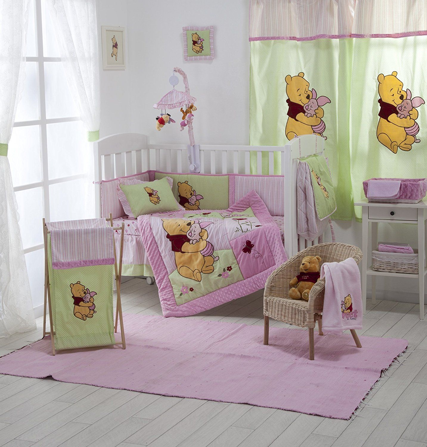 Baby Bedding Design Disney Pink Winnie The Pooh Kinderbett Betten ...