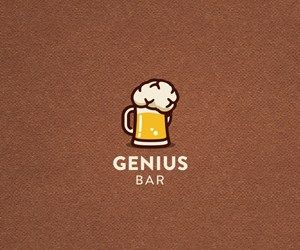 You'll find 25 different bar and pub logo examples here ...