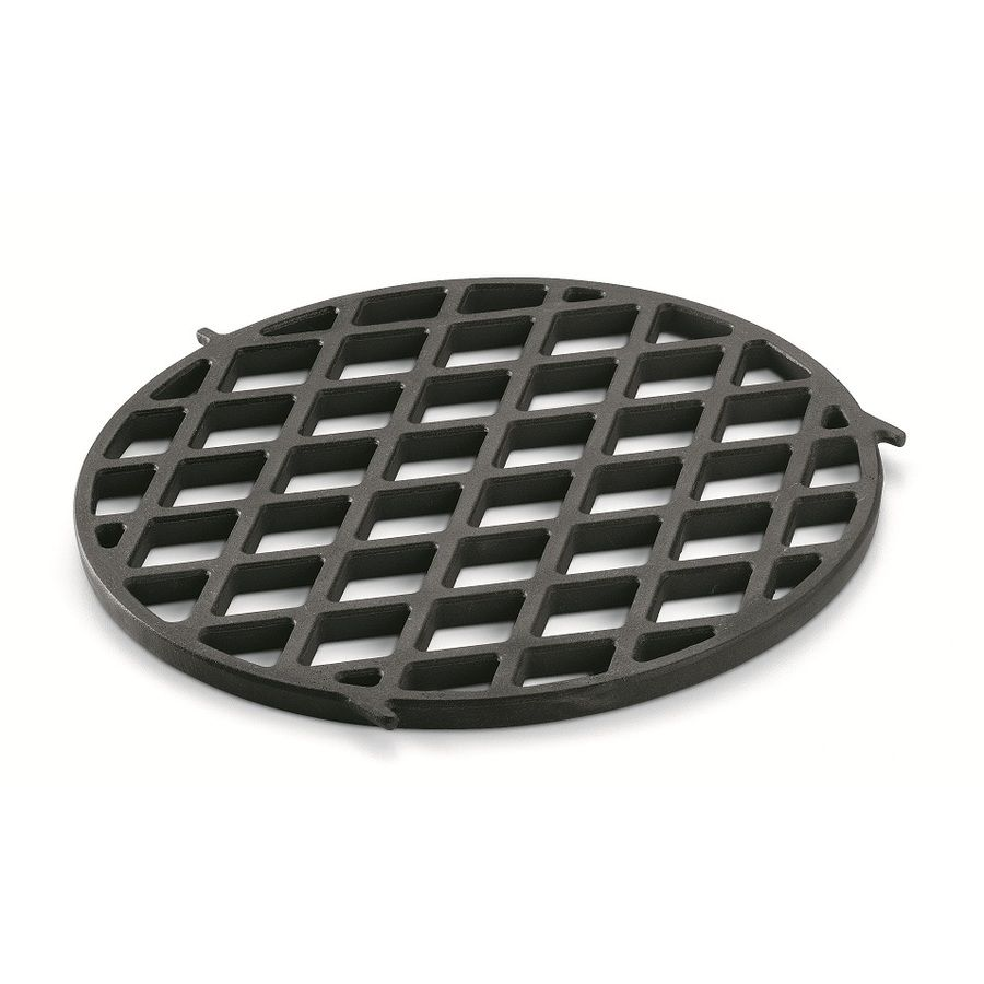 Weber Round Porcelain Coated Cast Iron Cooking Grate Lowes Com Gourmet Bbq Weber Grill Accessories Cast Iron Cooking