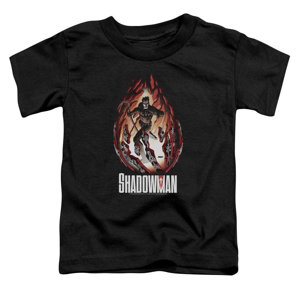 Shadowman/Burst Short Sleeve Toddler Tee in , Toddler Boy's