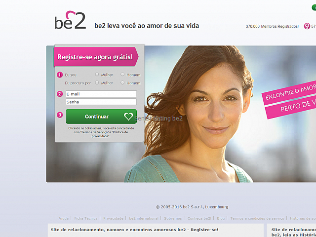 Be2 dating site login