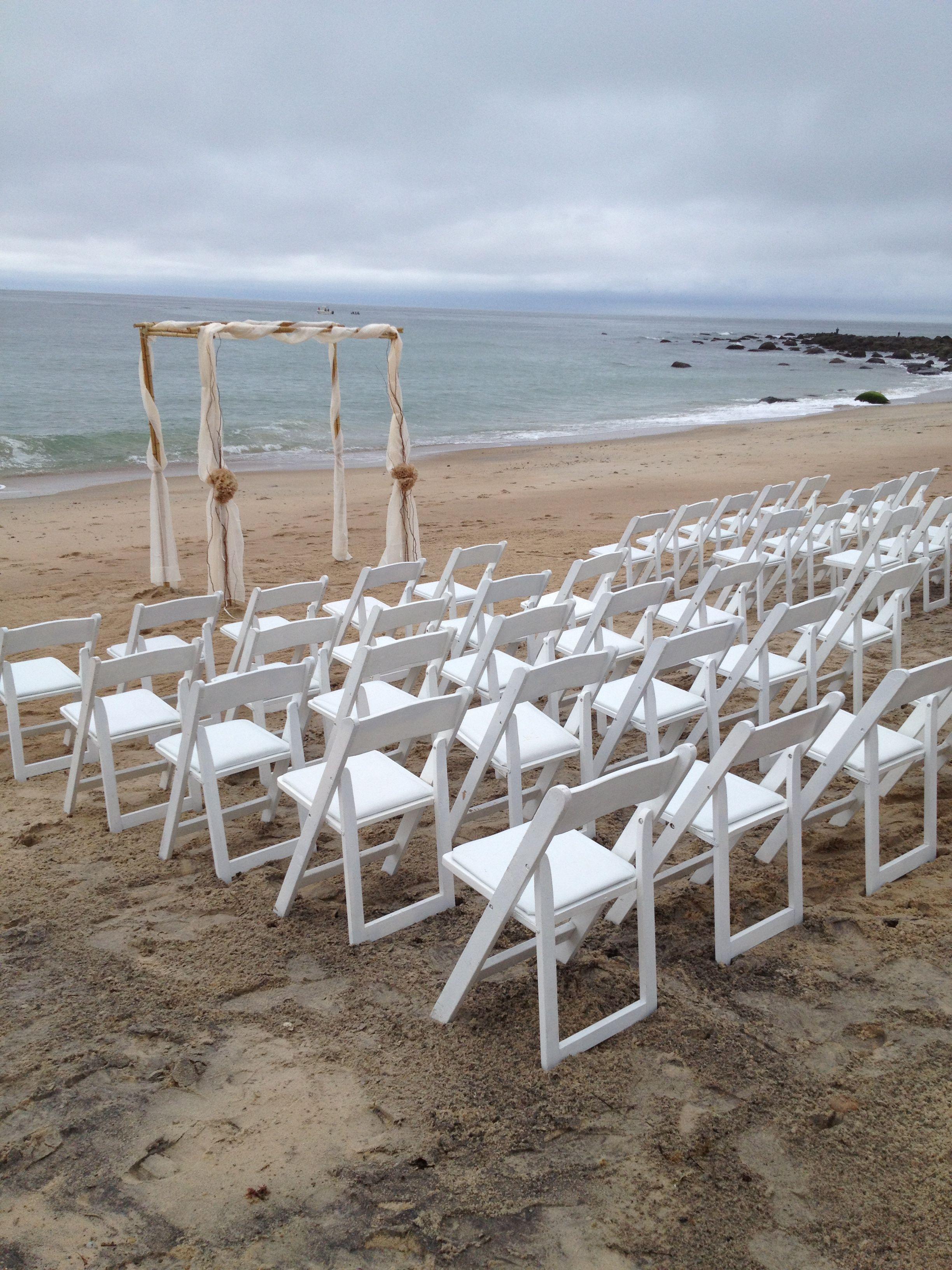 DIY Beach Wedding Arch Pretty But Would It Work