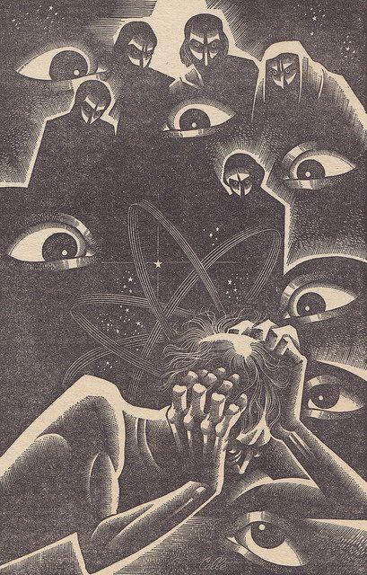 Super Science Stories / Illustration 7 Super Scien