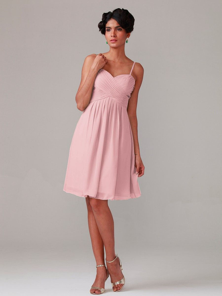 Pleated Bodice Chiffon Dress | Xxx | Pinterest