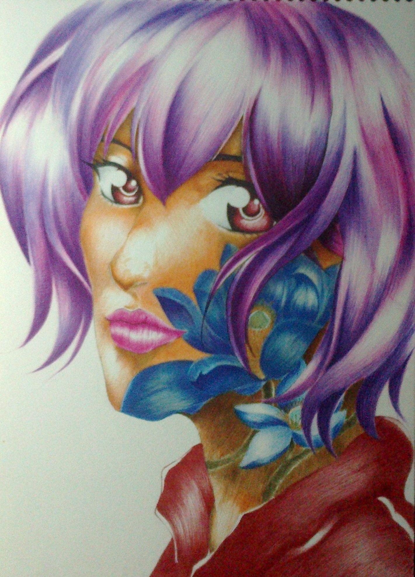 retrato a color (anime) | Shizenki | Pinterest