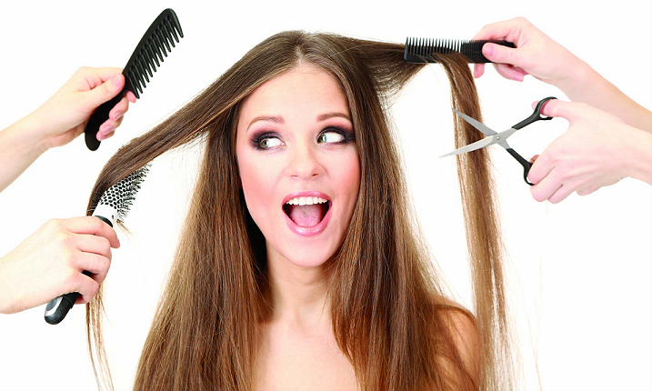 Use a stylist in training to get a cut or color at an upscale salon for half the price!