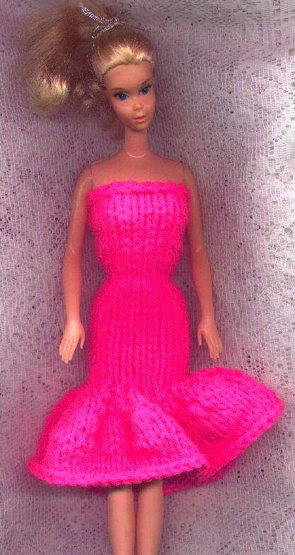 Strapless Evening Gown (   DOLLS - BARBIE FASHION   Pinterest   Free ...