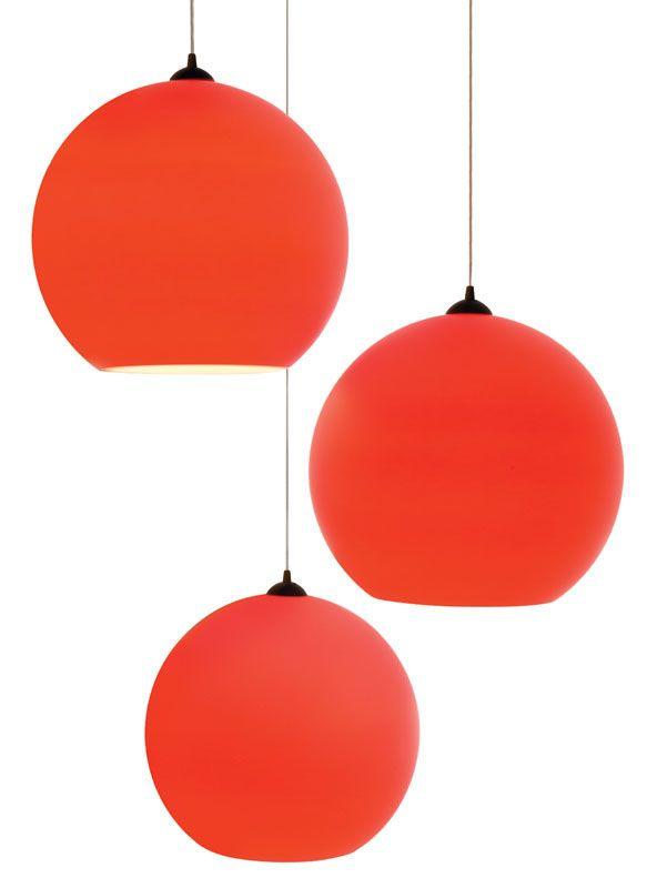 Fluorescent Orange Light Fixtures Modern Design Orange Light Fixture Red Pendant Light Pendant Light Fixtures