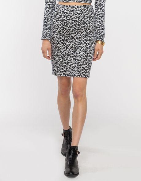 Kara Printed Pencil Skirt