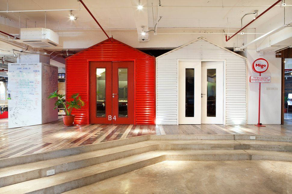 Video conference centers resembling makeshift philippine homes worlds coolest offices brilliant interior designs