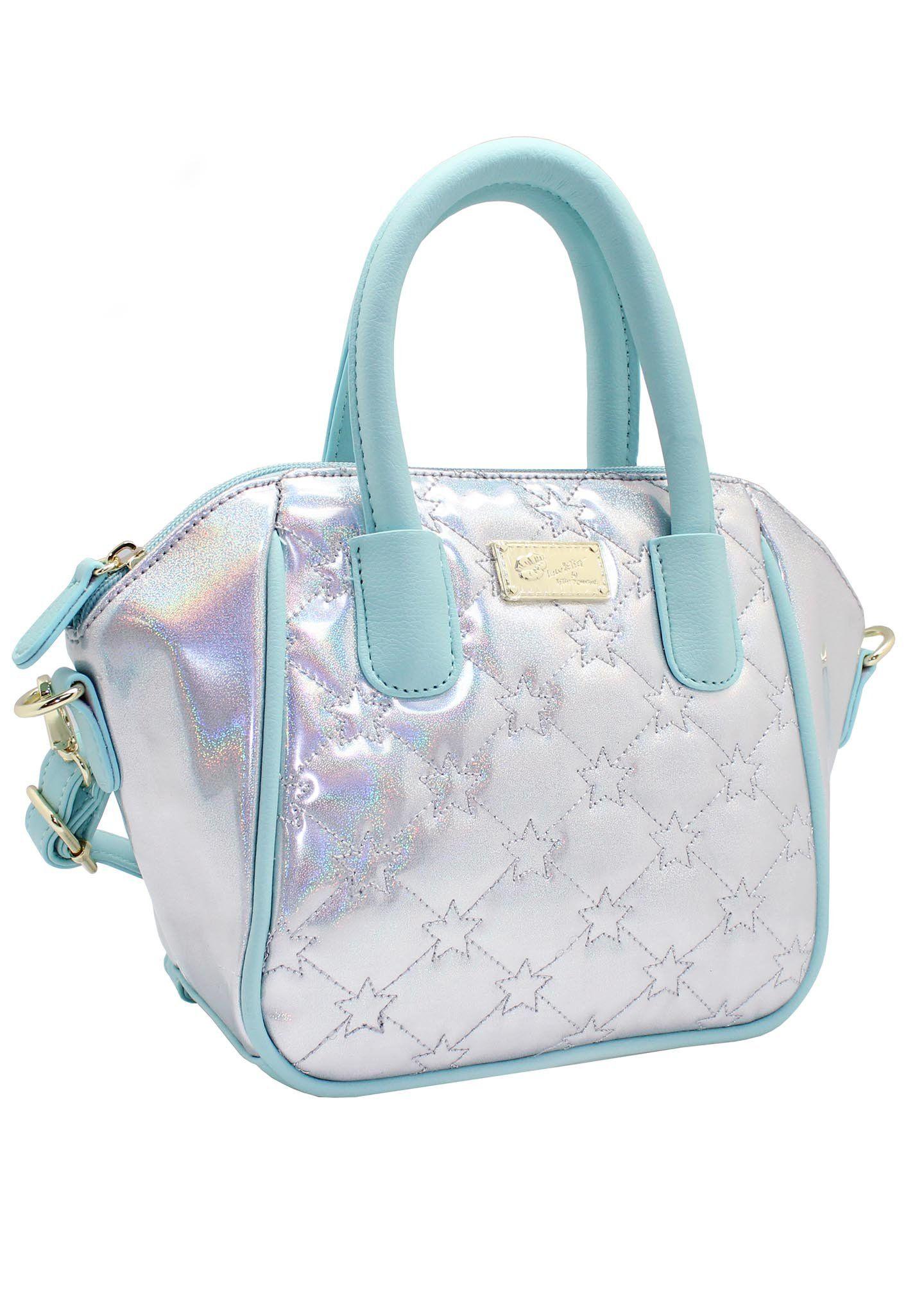 e2e07a56b7 LUV BETSEY   Shop Betsey Johnson LBQuinn Holographic Star Mini Satchel Bag  at LAStyleRush.com – LA Style Rush
