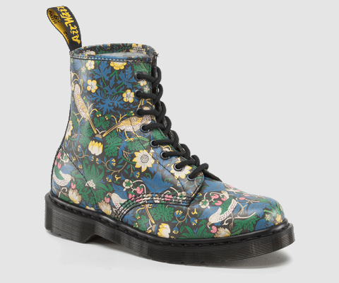 Liberty London x Dr. Martens: 1461: Navy Chery Red