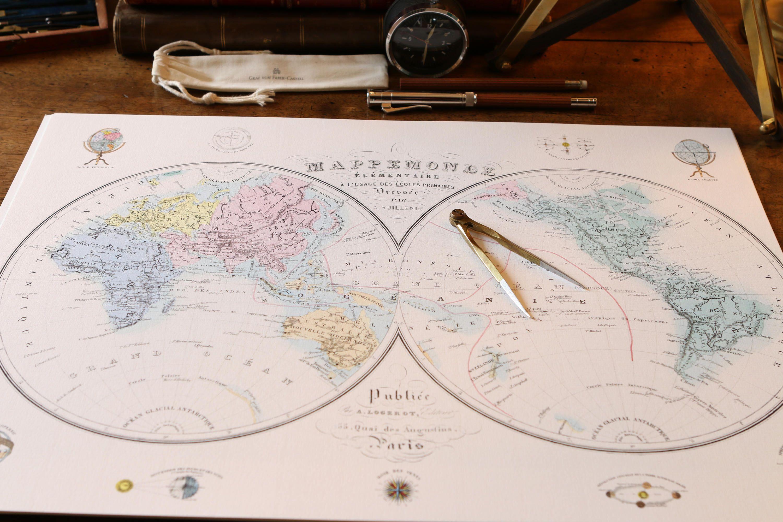 World map print 1876 world map poster world map wall art large world world map print 1876 world map poster world map wall art large world map vintage world map world map room decor push pin worldmap mappemonde gumiabroncs Choice Image