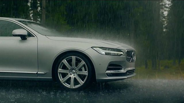 Say Hello To Volvo On Instagram This V90 Looks Fabulous In Rain Can T Wait To When It Releases Volvo Volvo Cars Volvo S90